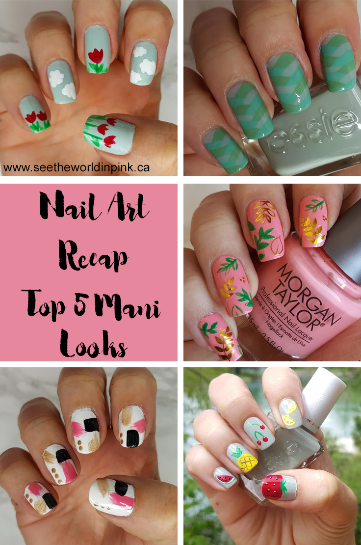 Manicure Monday - Favorite Nail Art Looks!