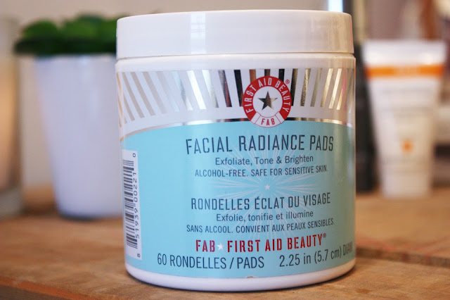 Sally May Lewis Winter Skin Care Favourites 2015 First Aid Beauty Facial Radiance Pads