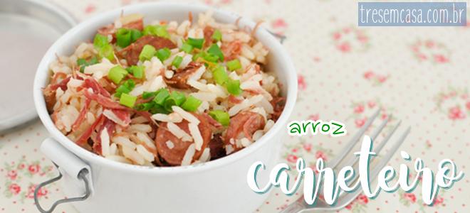 receita arroz carreteiro