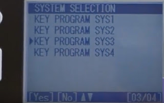 Key program SYS3