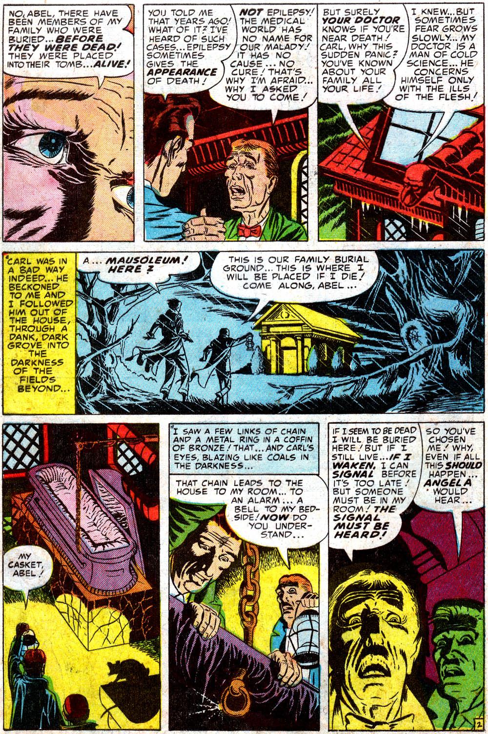 Ditko Comics: Black Magic #28[v4n4] [1954]