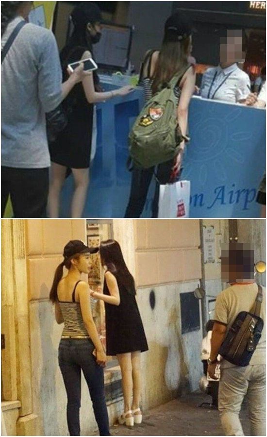 IU and Yoo In Na spotted going on a vacation together in