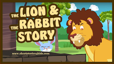 The Lion and The Rabbit - Moral Story for Kids