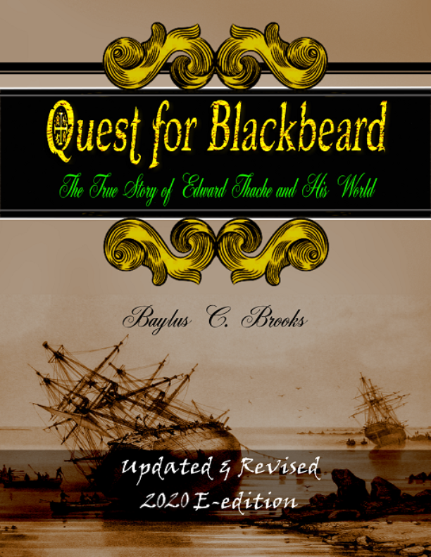 "2020 E-edition of ""Quest  for Blackbeard"""