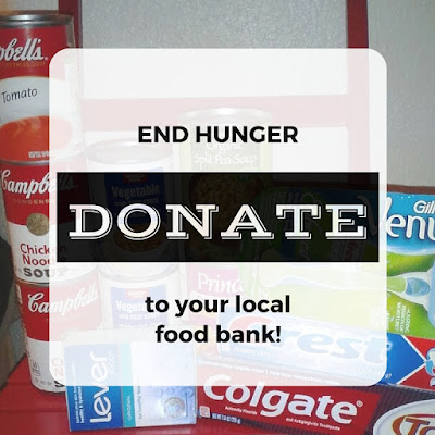 End hunger in America -- donate to your local food bank