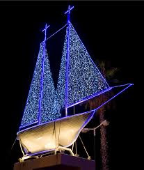 Greek Christmas Boat