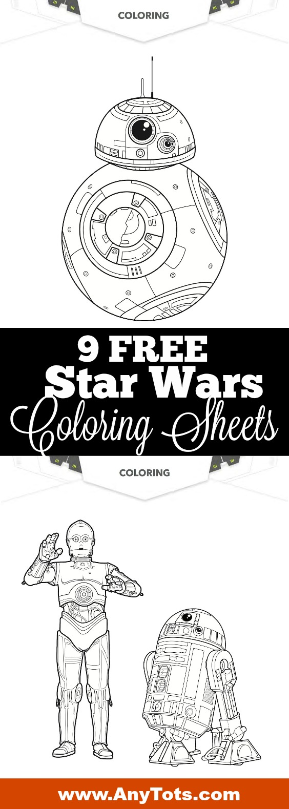 It is a picture of Hilaire Free Star Wars Printables