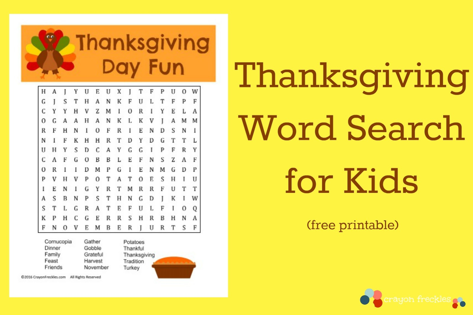 It's just a picture of Printable Thanksgiving Wordsearch pertaining to hard word