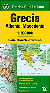 Grecia, Albania, Macedonia 1:800.000. Carta Stradale E Turistica PDF