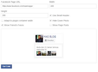 cara membuat fanspage gabungan di blog