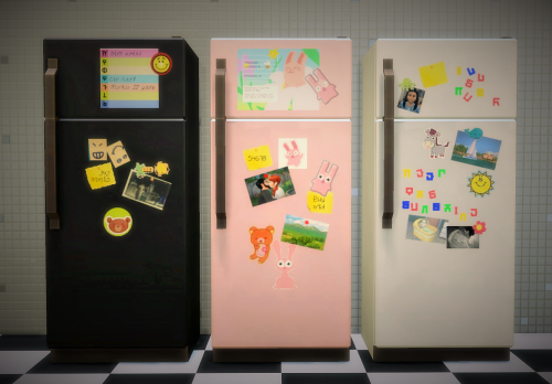 My Sims 4 Blog Windows Doors Fridge and More Recolors by Budgie2budgie