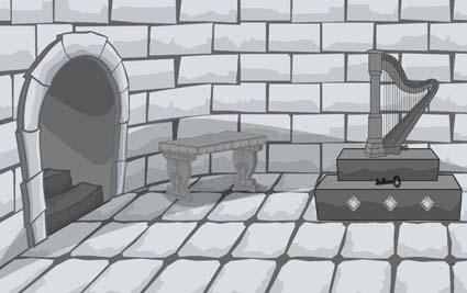 Black and White Escape: The Castle