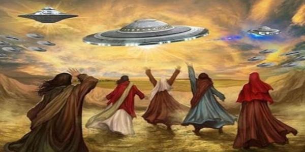 Μάχες μεταξύ των εξωγήινων που περιγράφονται σε αρχαία κείμενα