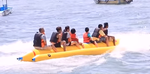 bali watersport banana boat