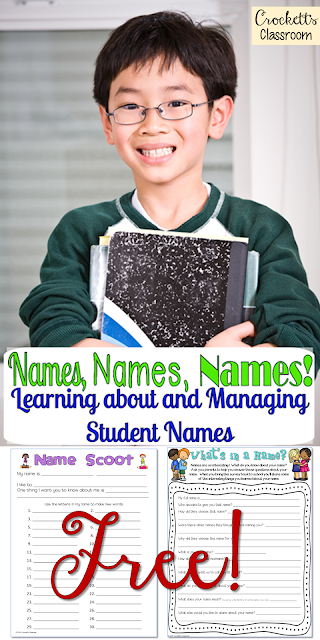 Name activities to start your school year.  Your students will have a great time getting to know each other with these activities.