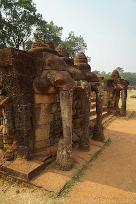 Terrasse des Elephants - Angkor - Cambodge