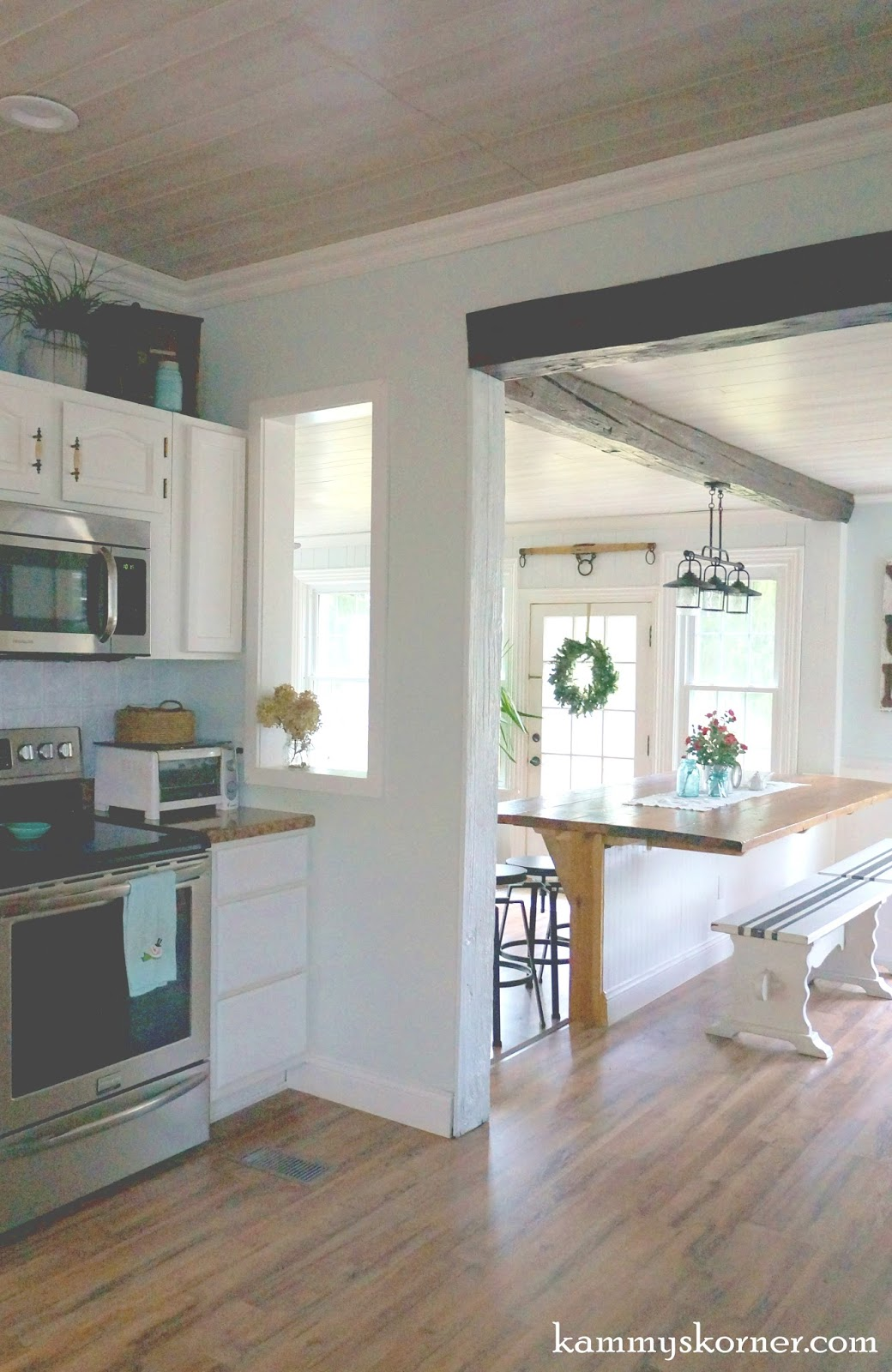 Pass Through Kitchen Window Serving Cart Kammy 39s Korner Make Your Home More Open Cut An Indoor