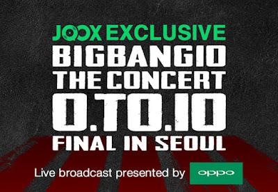 JOOX EKSKLUSIF: Siaran Langsung BIGBANG10 The Concert: 0.TO.10 The Final!
