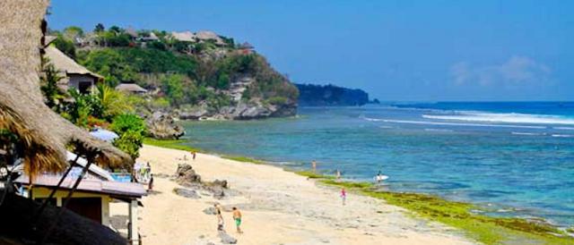 daftar 10 pantai terbaik di indonesia - Pantai Bingin, Bali