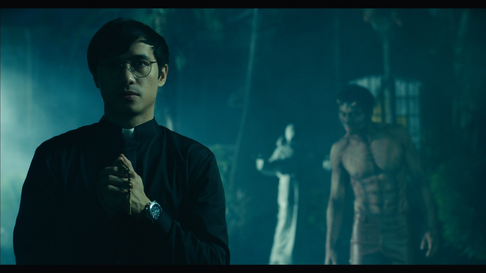 Kean Cipriano in hair pulling battle with devil in Echorsis