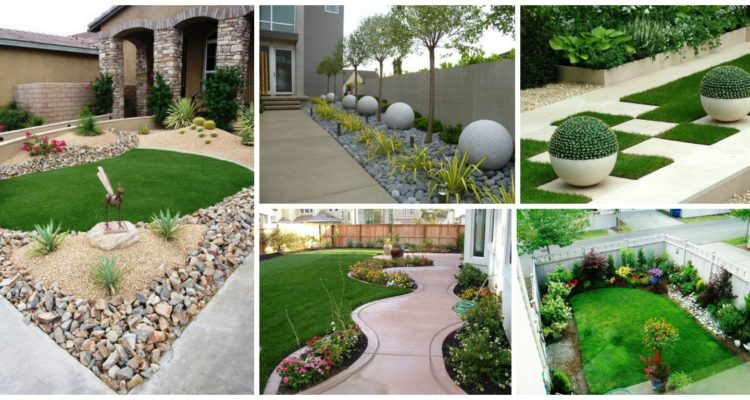 beautiful front yard landscaping ideas that add glam to your backyard - Front Yard Garden Ideas Pictures