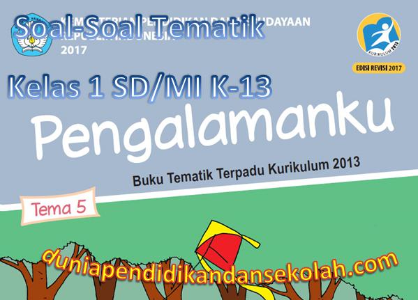 Soal Soal Tematik Tema 5 Pengalamanku Kelas 1 Sd Mi Subtema 1 2 3 Dan 4 K 13 Revisi 2017
