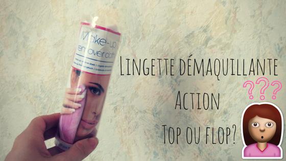 Lingette microfibre nettoyante visage d'Action