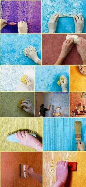 Diy c mo pintar paredes con efectos decoraci n del hogar - Efectos pintura paredes ...