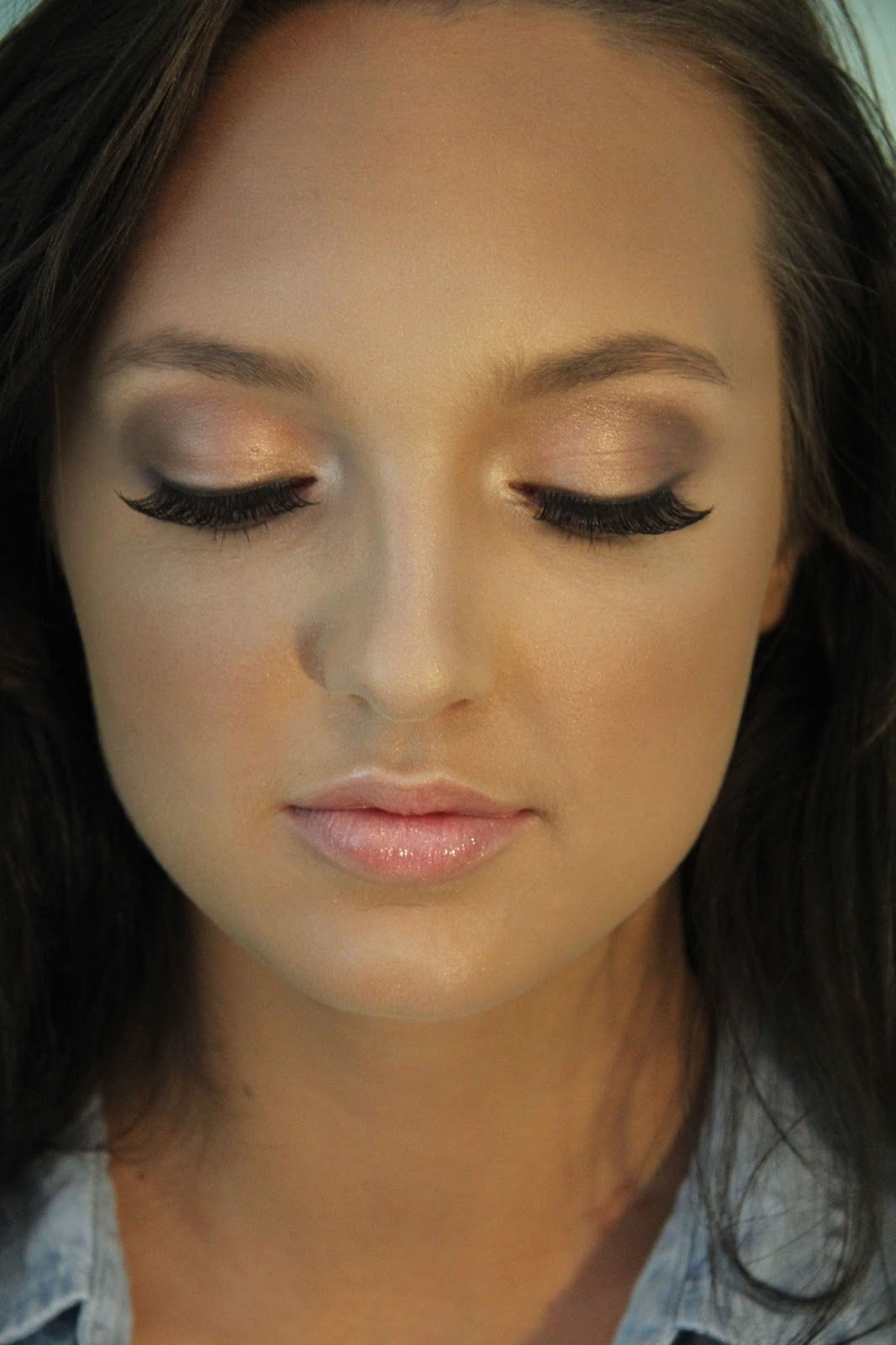 Pretty Makeup With The Eye Glitters 2052994: Pretty, Simple Makeup