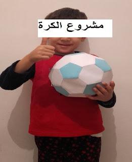 نموذج مشروع الكرة