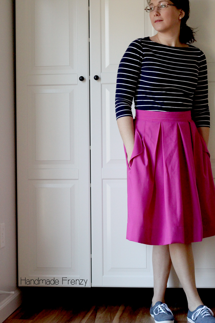 Wedgewood Skirt // Pattern Testing by Handmade Frenzy