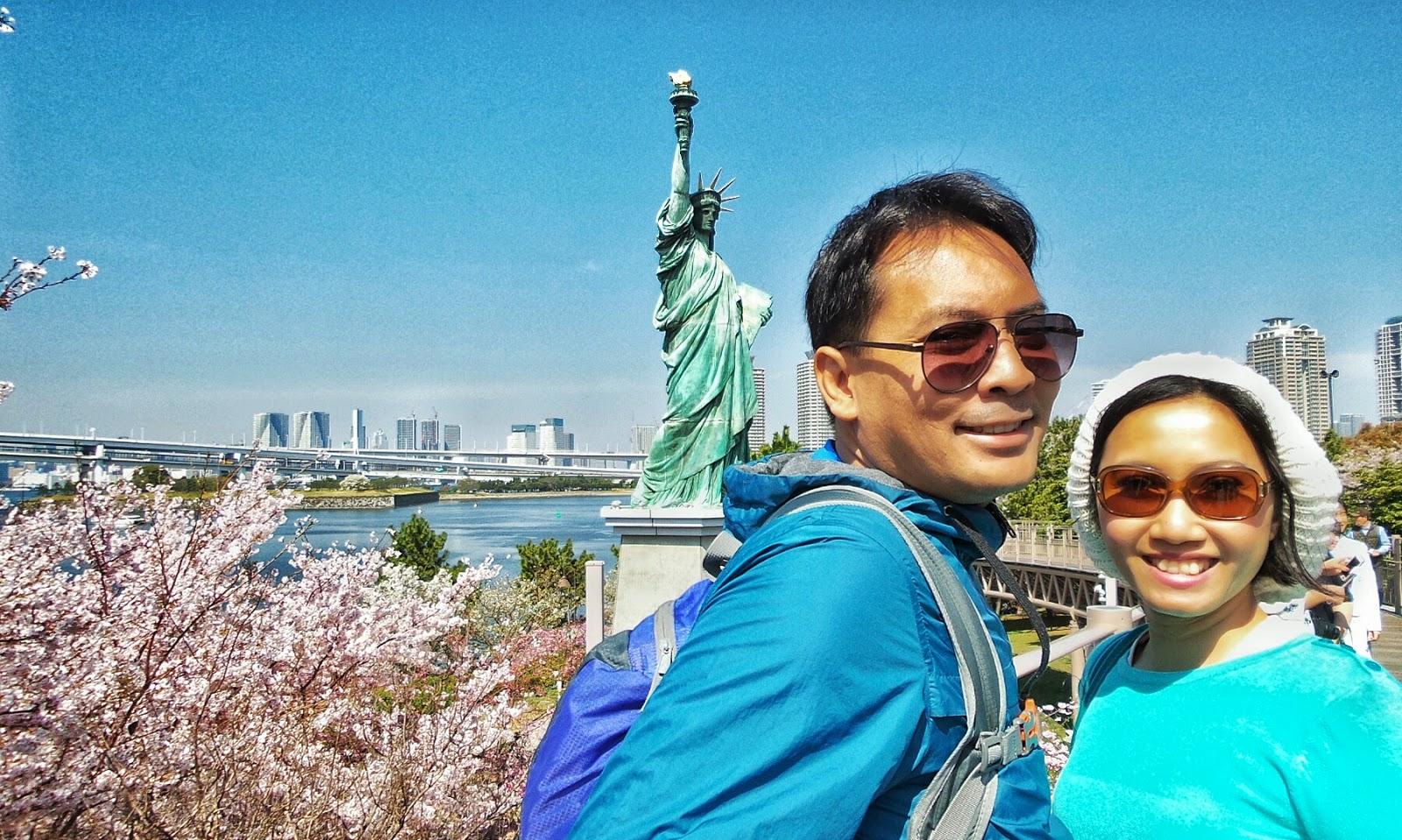 Ngubek Tokyo Mengunjungi Gundam Raksasa Tulip Dan Liberty Di