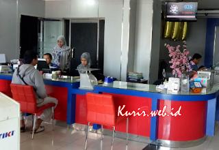 Alamat agen TIKI di Tangerang.