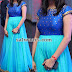 Sky Blue Floor Length Frock