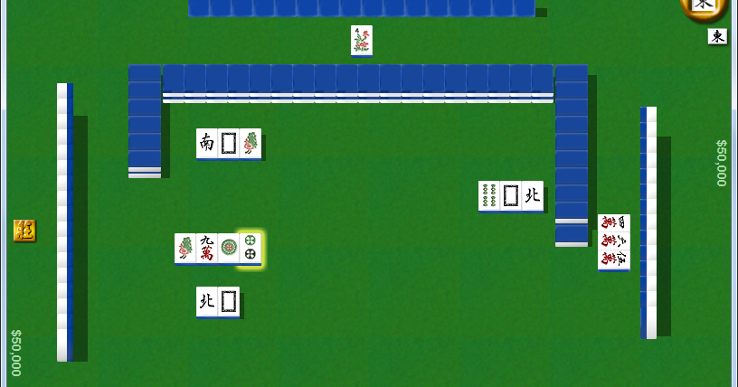 台灣十六支麻將 TWMJ 2.0.3.3 免安裝中文版 (2015.02.22) - 台語發音完全免費的單機版麻將遊戲