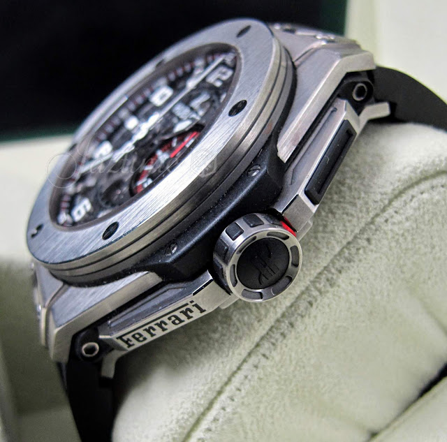 AAA Replique Montre Hublot Big Bang Ferrari 45mm Homme 401.NX.0123.GR De http://www.repliquesuisse.co/!