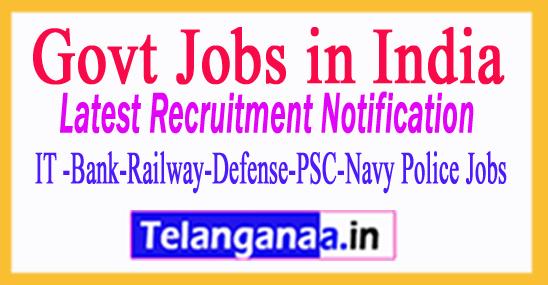 Kerala University Recruitment Notification 2017