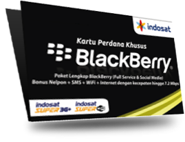 Daftar Paket Blackberry (BB) Indosat