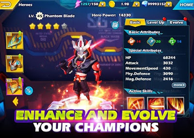 Land of Heroes Zenith Season MOD APK High Demage + God MOD