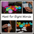 Preschool Activity Ideas | Toddler Activity Ideas | Mommy With Selective Memory: Sight Word Fun With an Easter Egg Hunt