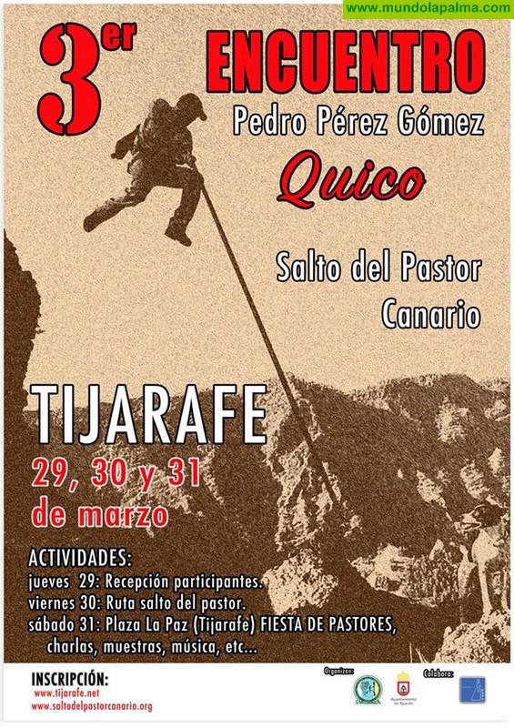 "Tercer encuentro Pedro Pérez Gómez ""Quico"" Salto del Pastor"