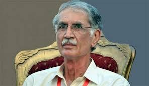Mr Pervez Khattak