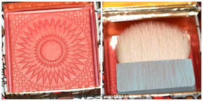 Review Blush GALifornia Benefit Cosmetics  pennello viso recensione fard pesca estate