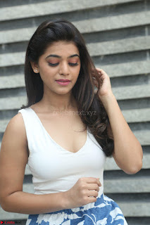 Yamini in Short Mini Skirt and Crop Sleeveless White Top 014.JPG