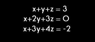 3 bilinmeyenli denklem