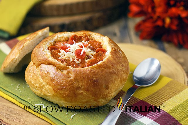 http://www.parade.com/230779/donnaelick/30-minute-pepperoni-pizza-soup-in-bread-bowls/