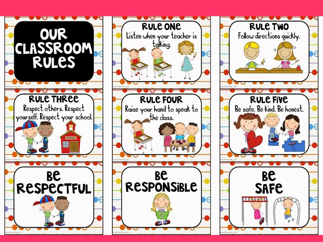 Milaenglish Blog Greetings Commands And School Rules
