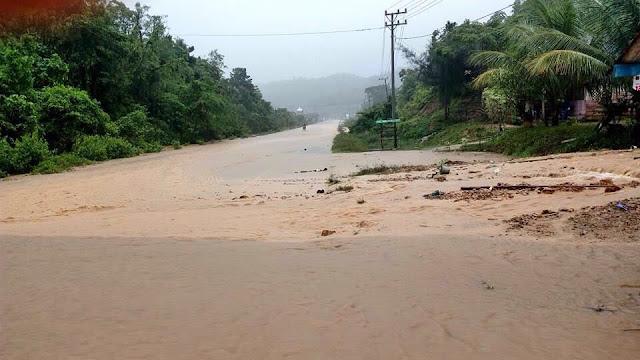 Diguyur Hujan, Aceh Jaya Diterjang Banjir
