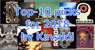 top-10 releases for 2018 by Kavaldi
