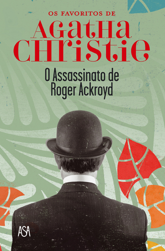 capa do livro o assassinato de roger ackroyd